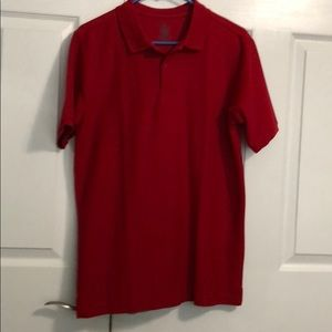 2 Red Chaps Polos